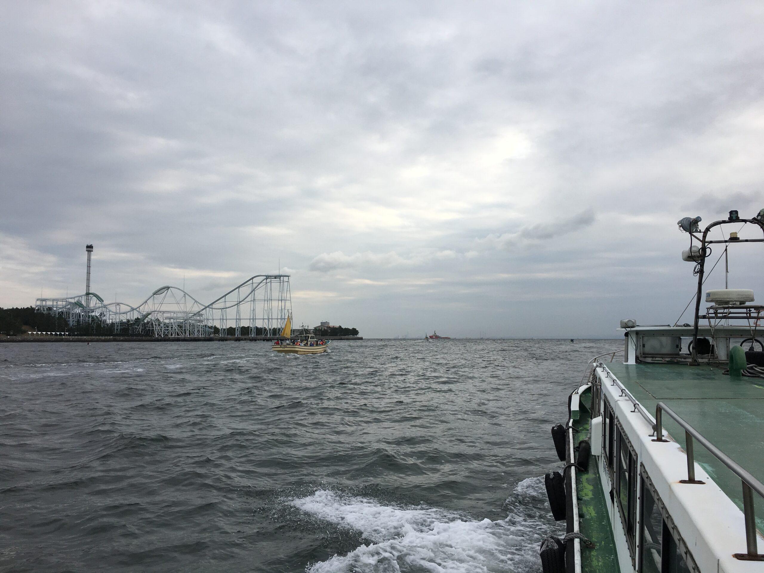 横濱野島堤防にて 忘れ物ばかりそれは大物と数釣りの予感〜その1