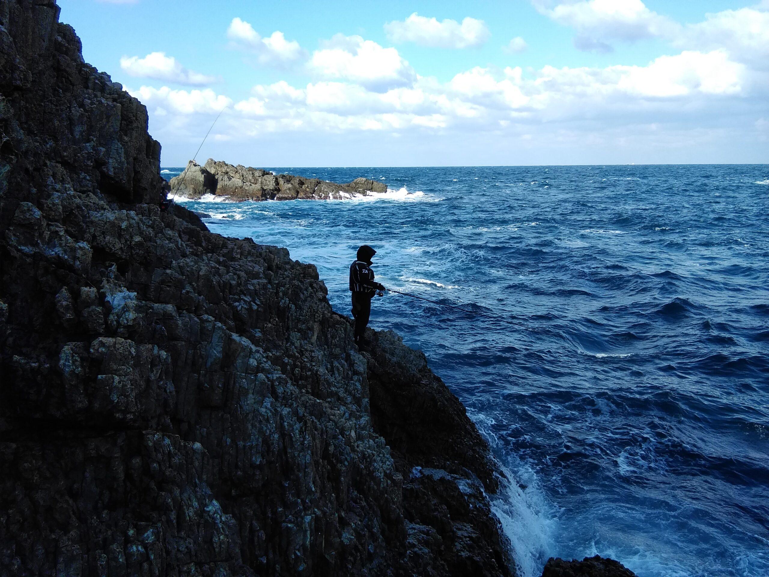 2019年一発目の釣り 島根半島・日御碕地磯で釣り