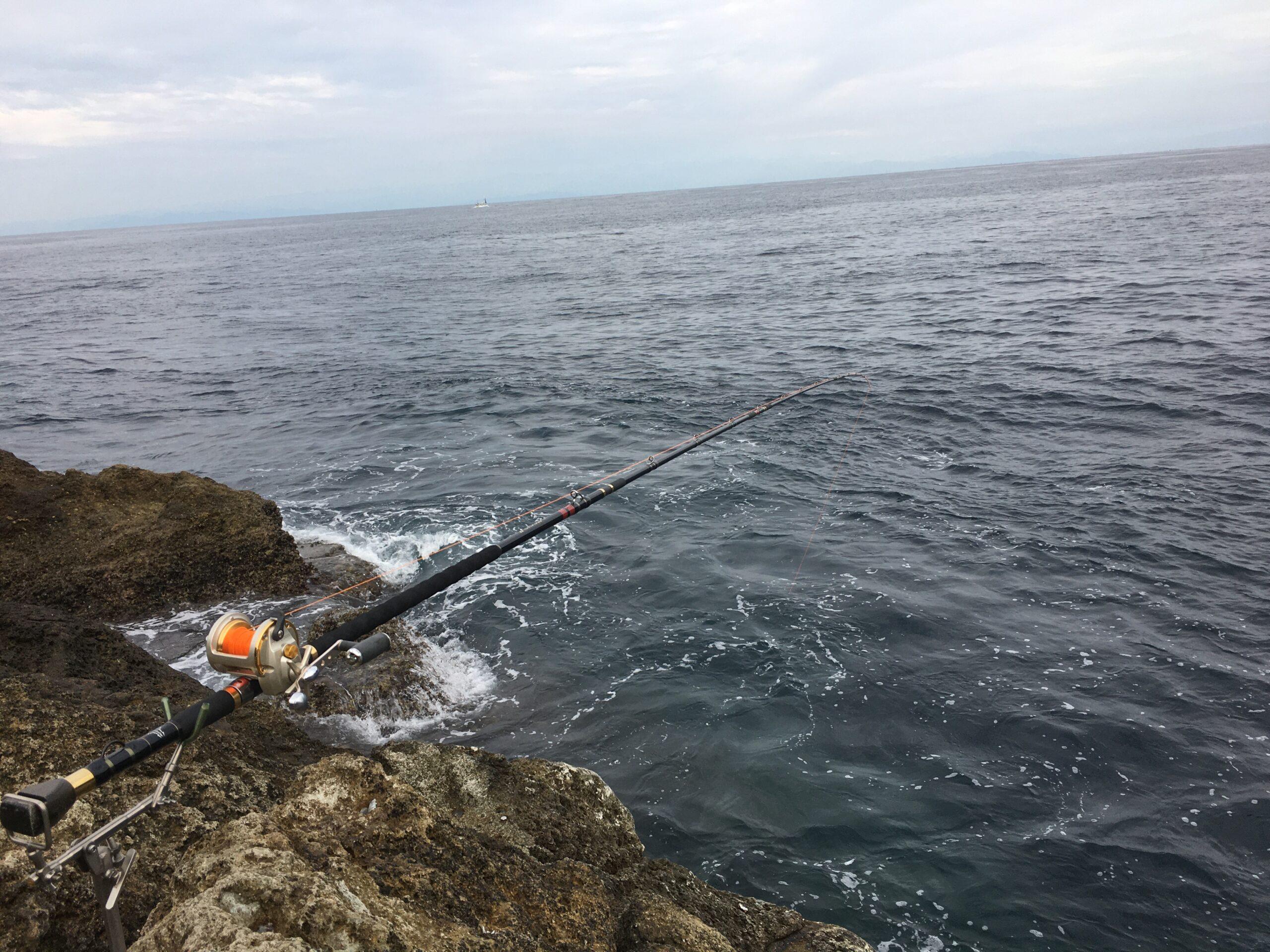 南伊豆・伊浜「丸島」にて底物釣り その1